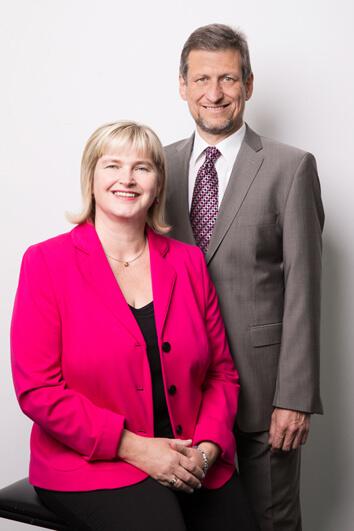 Firmengründer Reinhold und Claudia Stich